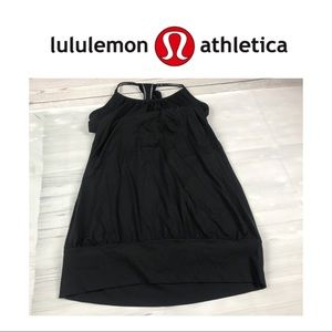 Lululemon Black Yoga Top. Sz 8